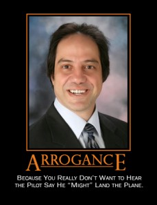 Definition of Arrogance